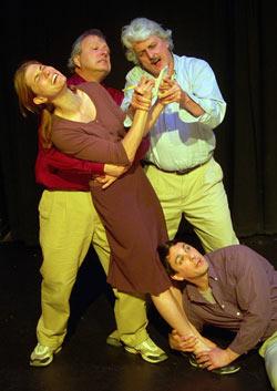 Theatre Nine's 'Half-Wits'