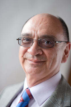 Benjamin E. Juarez, Photo by Vernon Doucette. Boston University.