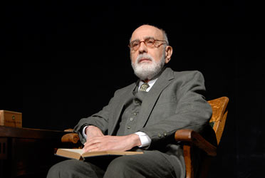 George Morfogen in 'Freud's Last Session' at the Peterborough Players.  Photo by Deb Porter-Hayes.